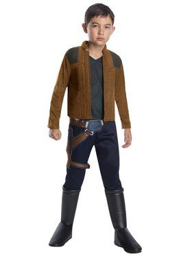 Solo A Star Wars Story Boys Deluxe Han Solo Costume
