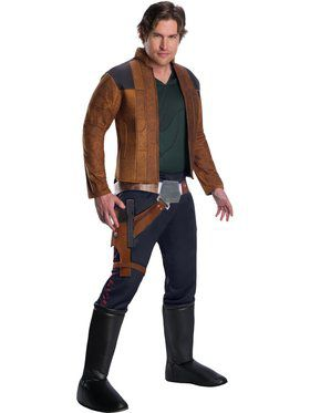 Solo A Star Wars Story Mens Deluxe Han Solo Costume