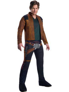 Solo A Star Wars Story Mens Han Solo Costume