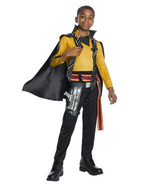 Solo A Star Wars Story Boys Deluxe Lando Costume