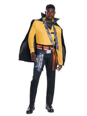 Solo A Star Wars Story Mens Deluxe Lando Costume