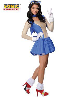 Sonic the Hedgehog Adult Costume  sc 1 st  Wholesale Halloween Costumes & Deluxe Sonic Child Costume - Boys Costumes for 2018 | Wholesale ...