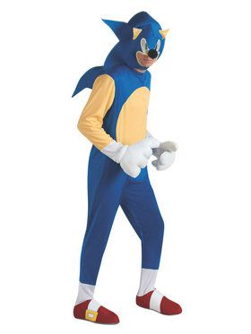 Sonic the Hedgehog Mens Costume