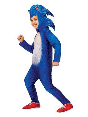 Child Deluxe Sonic the Hedgehog Movie Costume