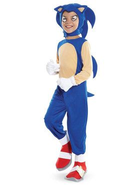 Sonic the Hedgehog - Sonic Costume For Children