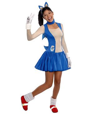 Sonic The Hedgehog Teen Costume