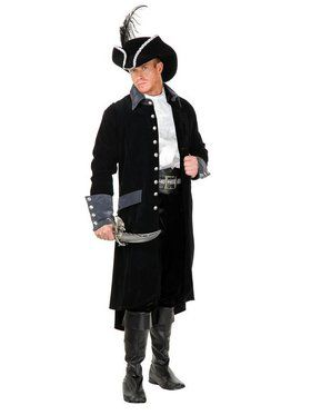 South Seas Pirate Coat Adult Costume