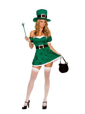 Spank Me I'm Irish Costume Adult