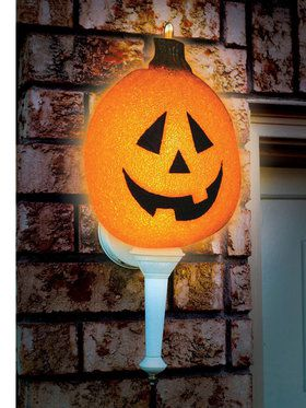 Sparkling Pumpkin Porch Light Cover (1 count)