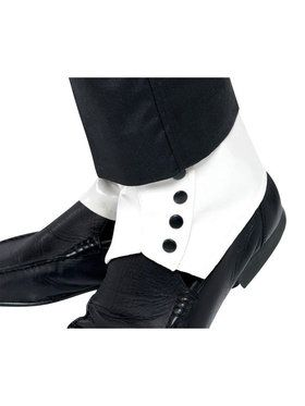 Spats White For Adults