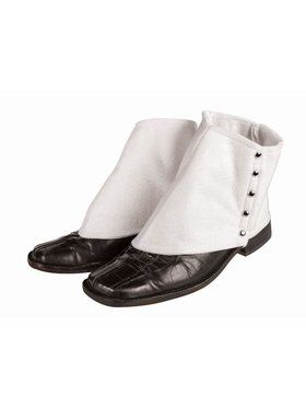 Spats White Accessory
