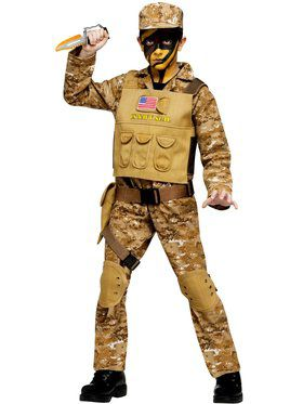 Special Ops Commando Boy's Costume