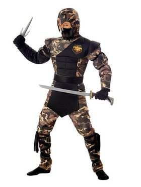 Special Ops Ninja Childs Costume