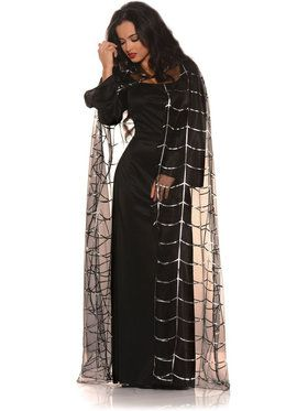 Spider Cape Women's Costume