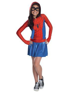 Spider Girl Girl's Costume