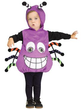 Baby Spider Googly Eyes Costume For Babies