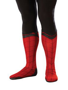 Spider - Man: Far From Home Adult Spider - Man Fabric Boot Tops