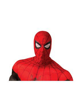 Adult Spider-Man: Far From Home Spider-Man Red and Black Fabric Mask