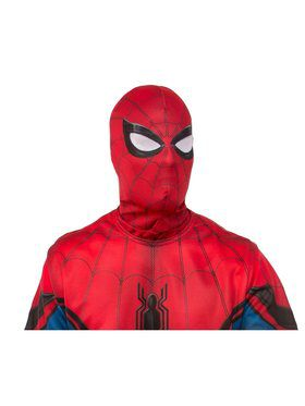 Adult Spider-Man: Far From Home pider-Man Red and Blue Fabric Mask