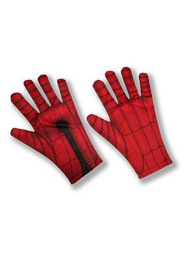 Adult Spider-Man: Far From Home Spider-Man Red and Blue Gloves
