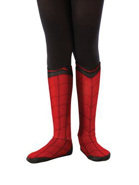 Kid's Spider-Man: Far From Home Spider-Man Fabric Boot Tops