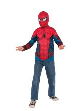 Spider - Man Far From Home: Spider - Man Costume Top (Red/Blue Suit)