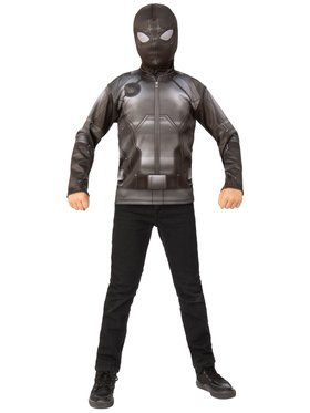 Spider-Man Far From Home Spider-man Stealth Top Costume