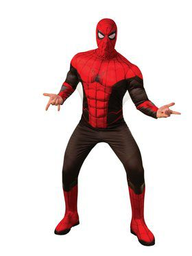 Spider-Man Far From Home Spider-Man Red and Black Deluxe Costume