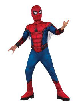 Spider-Man Far From Home Deluxe Spider-Man Red and Blue Costume