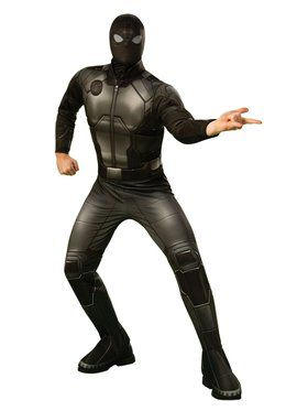 Spider-Man Far From Home Spider-man Stealth Deluxe Costume