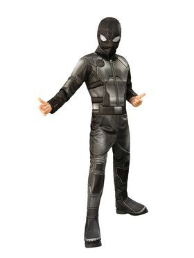 Spider-Man Far From Home Deluxe Spider-man Stealth Costume