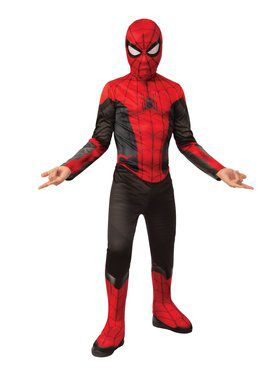 Spider-Man Far From Home Red and Black Spider-Man Costume