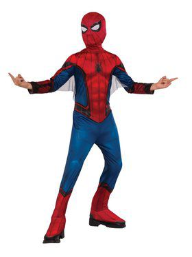 Spider - Man Far From Home: Spider - Man (Red/Blue Suit) Child Costume