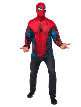 Adult Spider-Man Homecoming - Spider-Man Costume Top For Adults