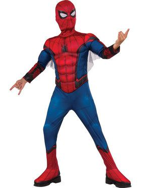 Spider-Man Homecoming - Spider-Man Muscle Chest Costume For Children
