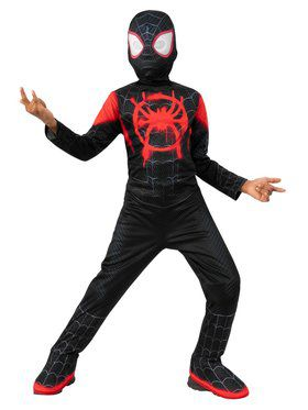 Spider Man Miles Morales Costume - Into the Spider-Verse