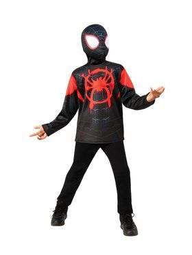 Into the Spider-Verse Spider Man Miles Morales Costume