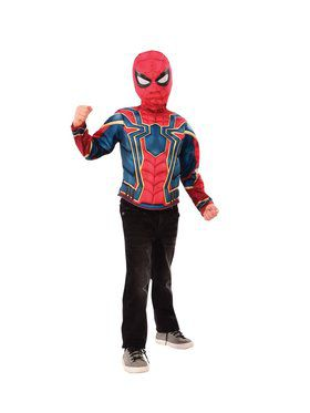 Spider Man Muscle Chest Shirt Set