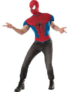Spider-Man Top Adult Costume