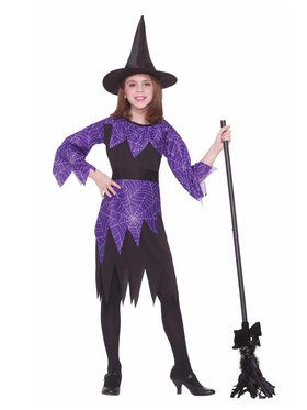 Spider Witch Girl's Costume