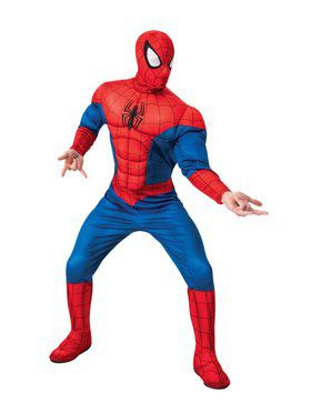 Spider-Man Deluxe Costume for Adults