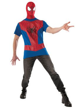 The Amazing Spider Man 2 Costume Kit Adult Costume