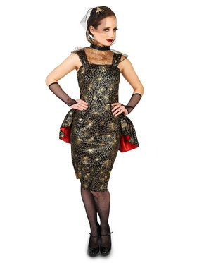 Adult Spiderweb Dress Costume For Adults