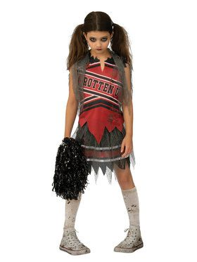 Cold Spiritless Cheerleader Costume for Girls
