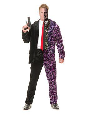 Adult's Split Personality Villain Costume