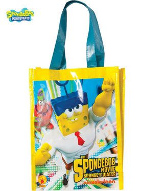 SpongeBob Movie Canvas Trick Or Treat Bag