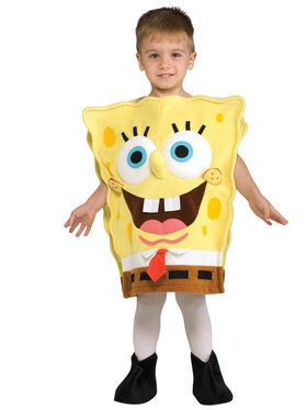 SpongeBob Squarepants Deluxe SpongeBob Costume For Children