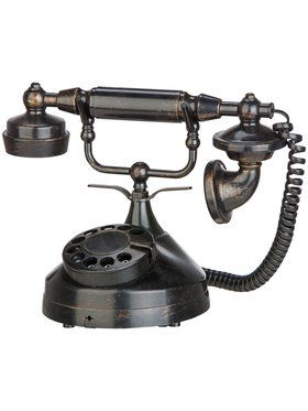 Victorian-Style Spooky Telephone Decoration