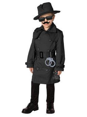 Spy Costume Kit For Children