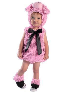 Squiggly Piggy With Feet Costume Toddler